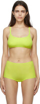 Thumbnail for your product : SKIMS Green Fits Everybody Scoop Neck Bralette