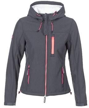 Superdry HOODED WINTER WINDTREKKER women's Jacket in Grey