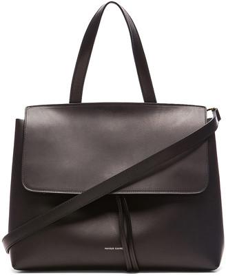 Mansur Gavriel Lady Bag in Black & Flamma | FWRD