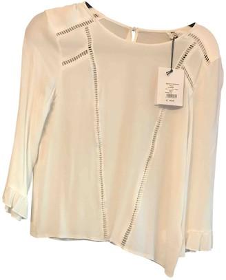 Suncoo Ecru Cotton Top for Women