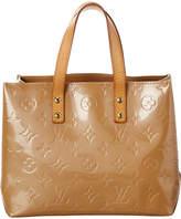 Louis Vuitton Beige Monogram Vernis Leather Reade Pm