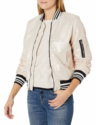 Hudson Women's Gene Puffy Bomber