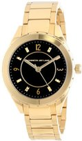 Kenneth Jay Lane Women's KJLANE-2204 Gold Ion-Plated Watch with Link Bracelet