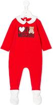 Moschino Kids logo print pyjamas
