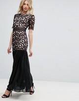 Glamorous Embroidered Maxi Dress