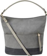Accessorize Suedette Hobo Shoulder Bag