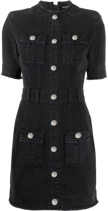 Balmain Button Front Dress