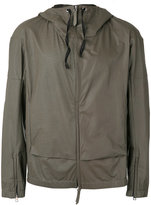 Premiata hooded jacket - men - Calf Leather - 48
