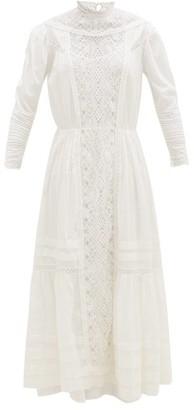 Mimi Prober - Susanna Layered Organic-cotton Tulle Dress - Womens - White
