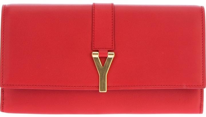 Saint Laurent Y-clasp wallet