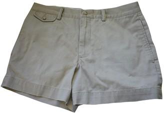 Polo Ralph Lauren Beige Cloth Shorts for Women