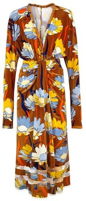 Fendi Multicolour chenille dress
