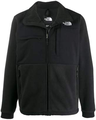 The North Face multi-pockets stand-up collar jacket