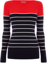 Oasis Colour Block Rib Knit