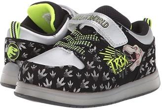 Favorite Characters Jurassic Worldtm Walk Motion CL JPF308 (Toddler/Little Kids) (Black) Boy's Shoes