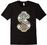 Diamonds Gold Dollars Bling T-Shirt