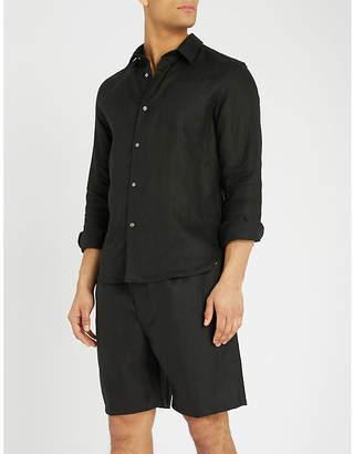 Derek Rose Monaco linen shirt