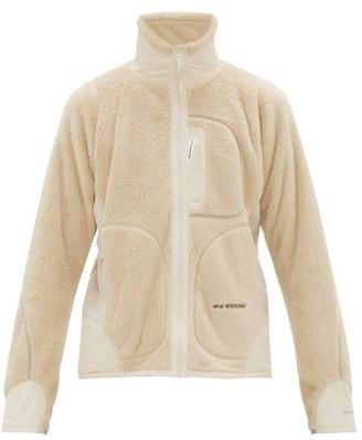 And Wander - High Loft Fleece Jacket - Mens - Cream