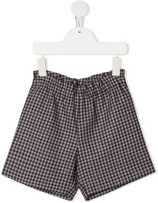 Bonpoint Gingham-Check Shorts