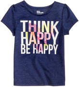 Epic Threads Be Happy T-Shirt, Little Girls, Created for Macy's