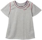 True Religion Sporty Draped Short Sleeve Tee (Little Girls)