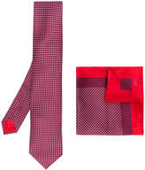 Brioni pocket square & tie set