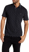Smash Wear Short Sleeve Geometric Print Polo