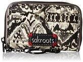Sakroots Artist Circle Zip Id Case Wallet