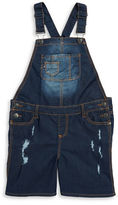 Vigoss Girls 7-16 Girls Distressed Overalls
