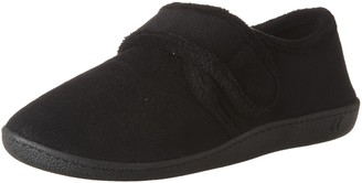 Isotoner womens Microterry Espadrille Velcro Moccasins