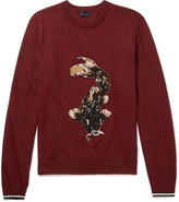 Lanvin - Koi-intarsia Wool Sweater