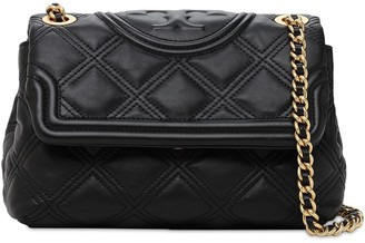 Tory Burch Fleming Quilted Leather Sm Shoulder Bag