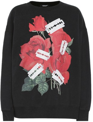Undercover Printed cotton sweatshirt