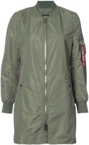 Alpha Industries L-2B Long Jacket - women - Nylon - S