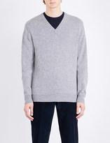 Corneliani V-neck cashmere jumper