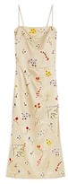 Thumbnail for your product : Tory Burch Embroidered Sheath Midi Dress