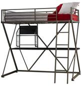 Powell Company Z Loft Bed Pewter (Twin)