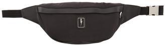Neil Barrett Black Eco-Leather Belt Bag