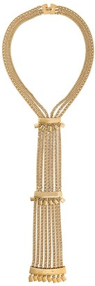 Monet Pre-Owned tassel pendant necklace
