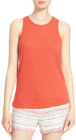 Joie &Nykel& Twisted Edge Racerback Tank