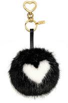 Victoria's Secret Victorias Secret Heart Pom Keychain