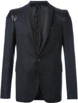 Les Hommes quilted shoulder blazer
