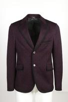 Gucci Horsebit Jacquard Jersey Blazer