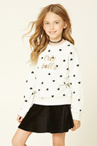 Forever 21 FOREVER 21+ Girls Tres Belle Sweater (Kids)