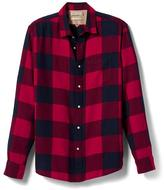 Banana Republic Heritage Camden-Fit Flannel Shirt