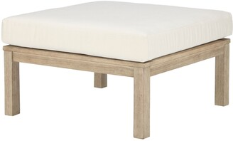 John Lewis & Partners St Ives Garden Coffee Table / Foot Stool, FSC-Certified (Eucalyptus Wood), Natural