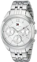 Tommy Hilfiger Women's 1781485 Analog Display Quartz Silver Watch