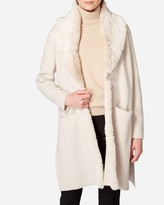 N.Peal Fur Collar Milano Cashmere Coat