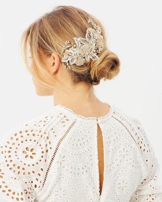 Ivory Knot Maria Hair Comb