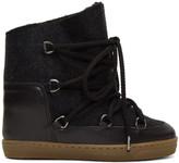Isabel Marant Grey Sheepskin Nowles Boots